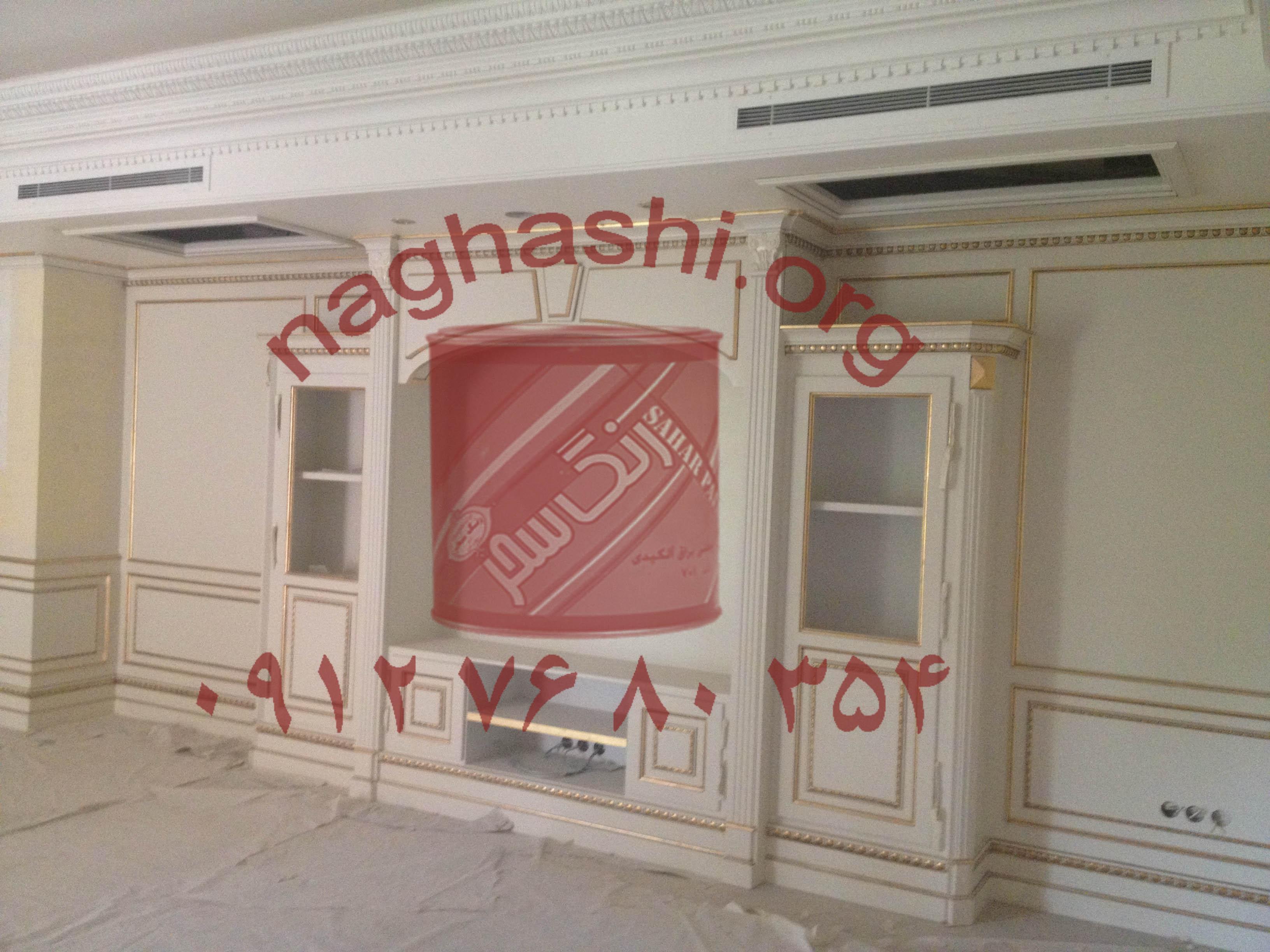 نقاشی ساختمان در رسالت کرج